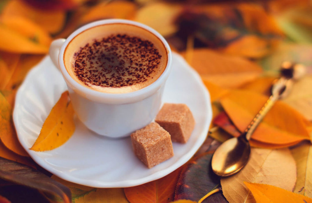 кофе с тростниковым сахаром