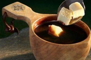 кофе с сыром рецепт