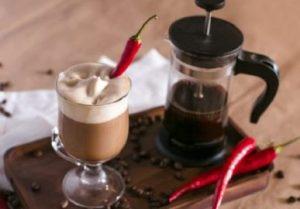 кофе с перцем чили